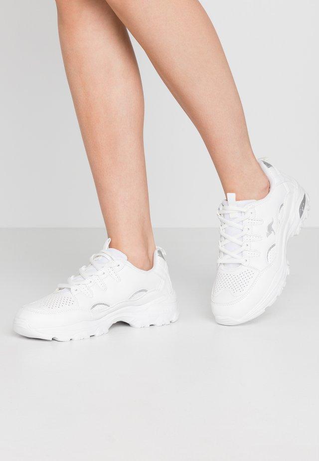 KW-BIRDY - Sneaker low - white/silver