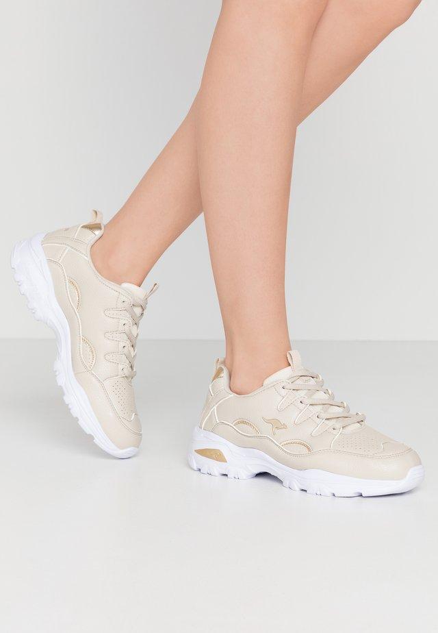 KW-BIRDY - Sneaker low - beige/gold