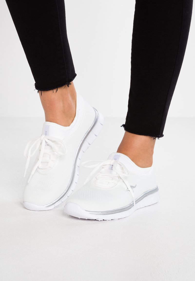 KangaROOS - K-RUN NEO - Trainers - white/silver