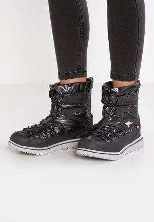 WOWI JOG RTX - Winter boots - jet black