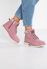 KangaROOS - RIVETER - Ankle boot - rose - 0