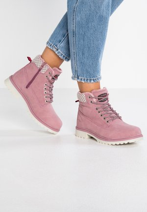 RIVETER - Ankle boots - rose