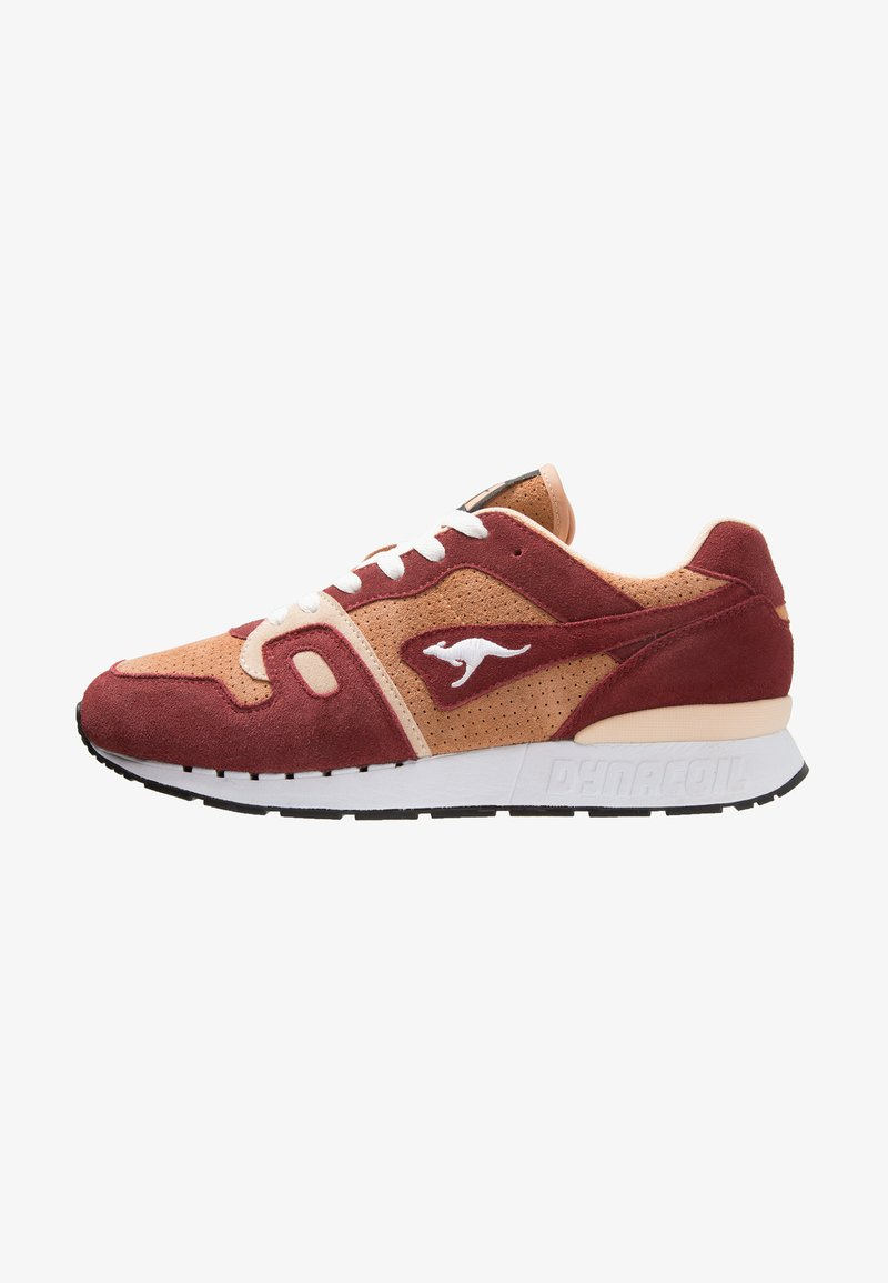 KangaROOS - OMNICOIL - Baskets basses - red/beige