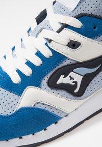 KangaROOS - RACER HYBRID - Trainers - blue/white - 5