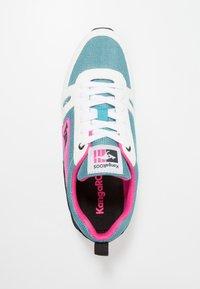KangaROOS - OMNIRACER - Sneakers - white /tile blue - 1