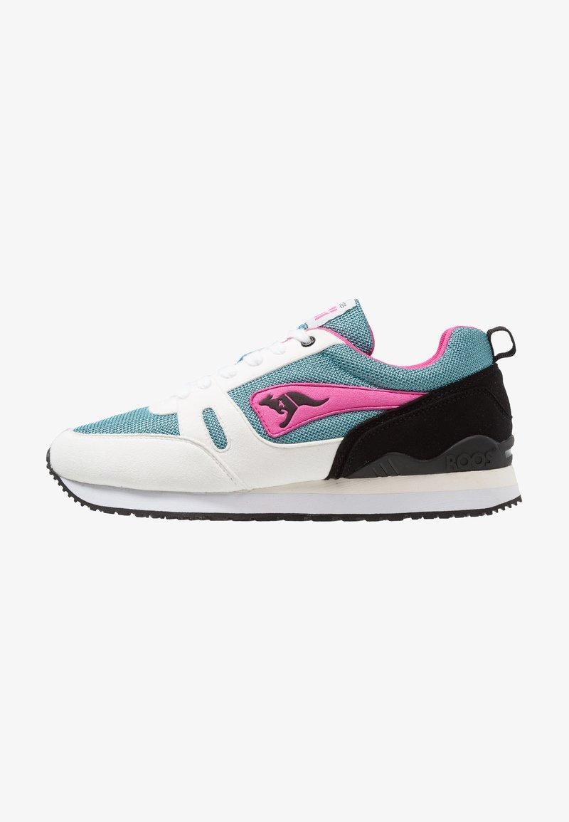 KangaROOS - OMNIRACER - Sneakers - white /tile blue