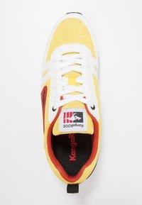 KangaROOS - OMNIRACER - Baskets basses - white/neon yellow - 1