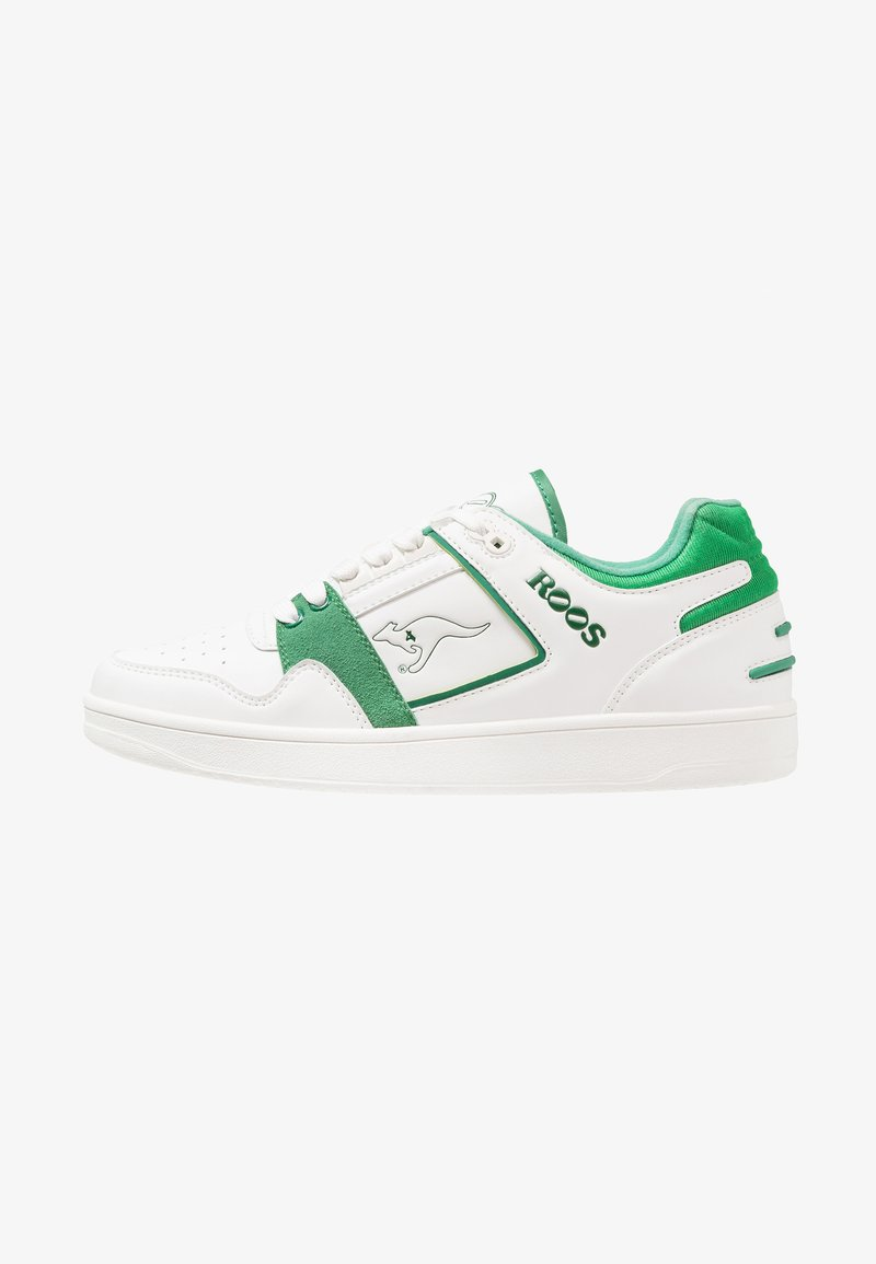 KangaROOS - HOT SHOT - Trainers - white/green
