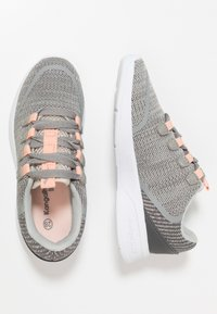 KangaROOS - KF LOCK - Sneakers - vapor grey/dusty rose - 0