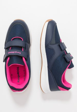 COURTY - Sneakers - dark navy/daisy pink
