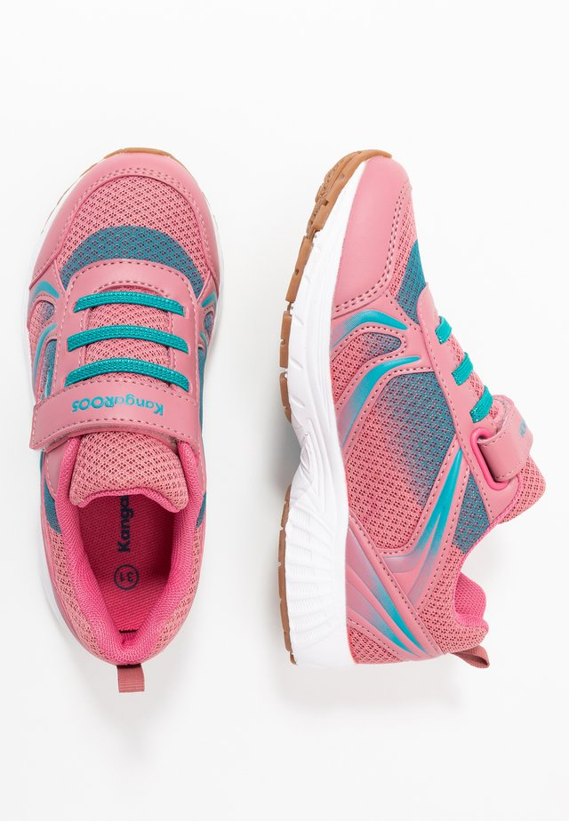 NIKO - Sneakers basse - dusty rose/turquoise