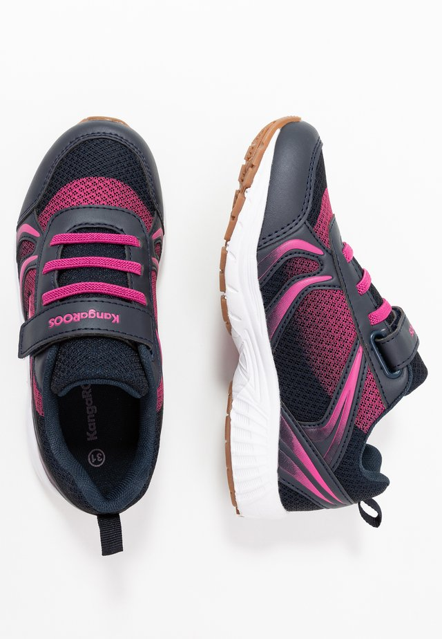 NIKO - Sneakers - dark navy/daisy pink