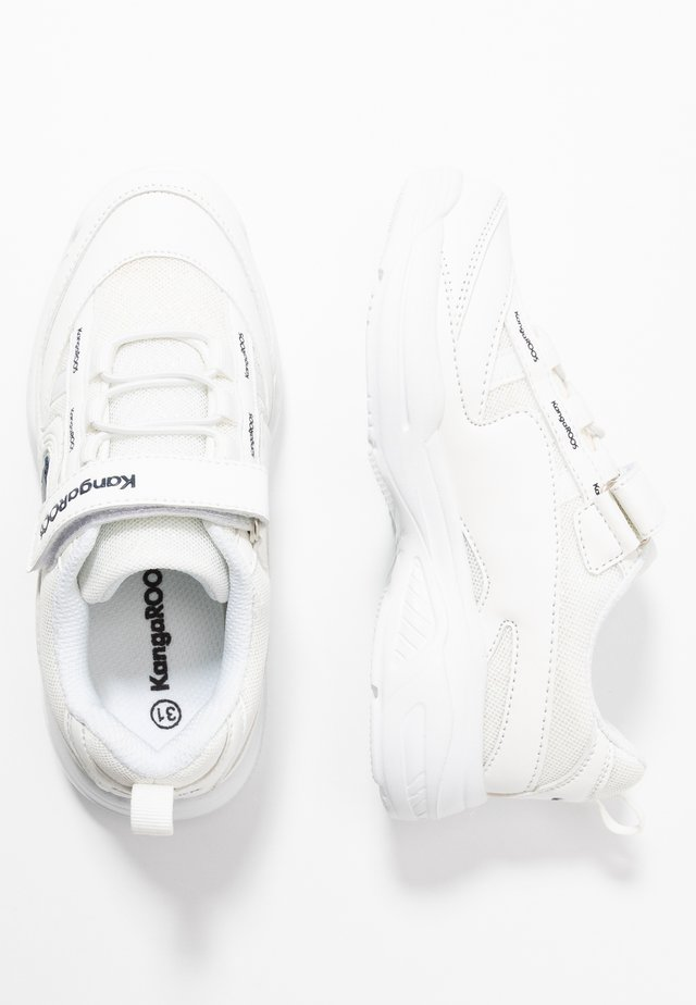 CHUNKY - Sneaker low - white