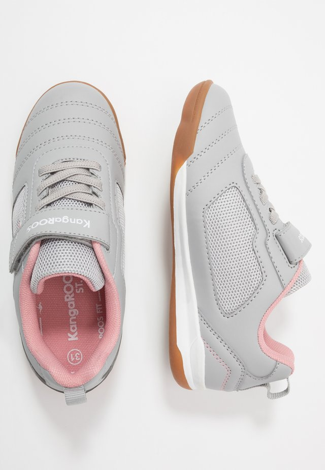 NICOURT - Trainers - vapor grey/dusty rose