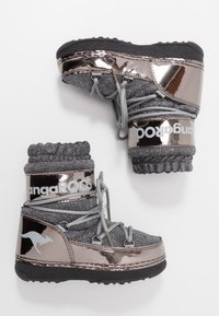 KangaROOS - K-MOON - Vinterstövlar - steel grey metallic/vapor grey - 0