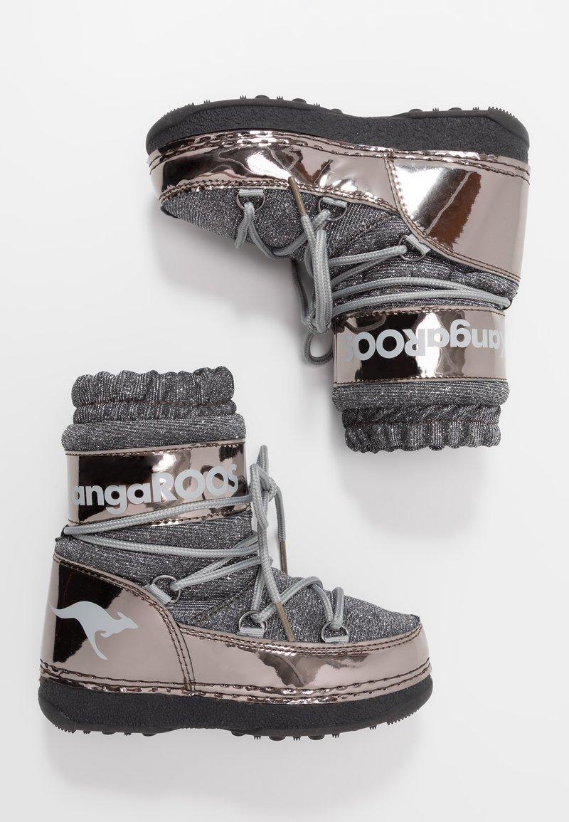 KangaROOS - K-MOON - Vinterstövlar - steel grey metallic/vapor grey