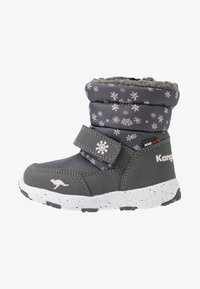 KangaROOS - SNOWRUSH - Talvisaappaat - steel grey/frost pink - 1