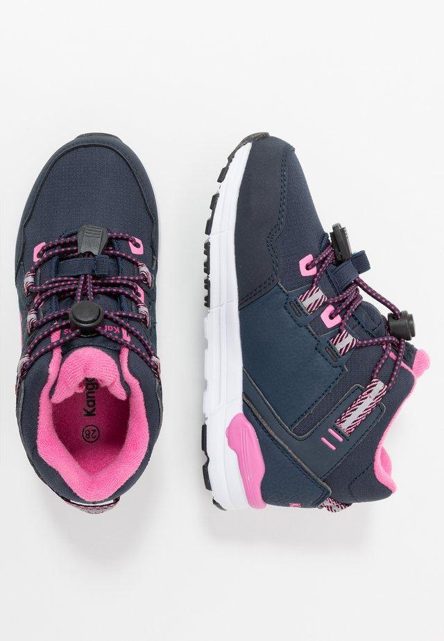 TRABO RTX - Sneaker high - dark navy/magenta