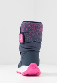 KangaROOS - K-FLUFF RTX - Zimní obuv - dark navy/daisy pink - 4