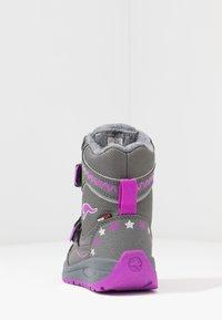 KangaROOS - K-PLUSH RTX - Zimní obuv - steel grey/purple - 4