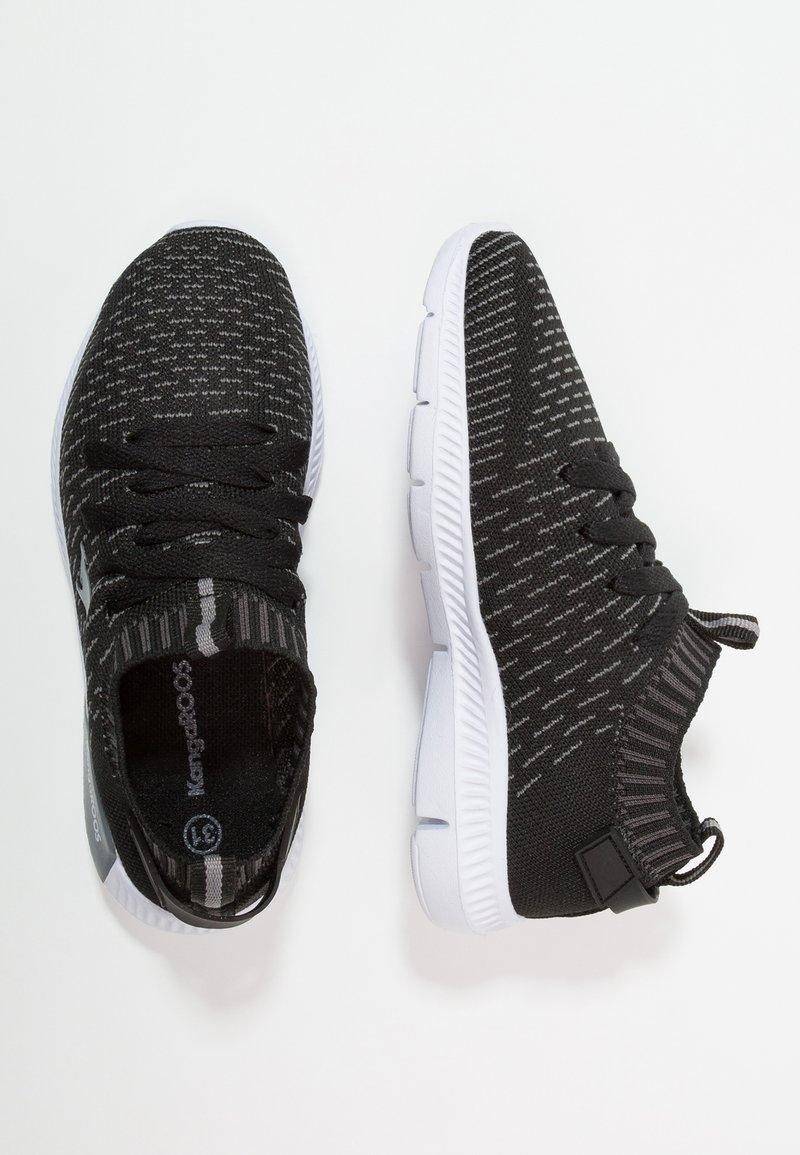 KangaROOS - K-SOCK - Sneakers - jet black/steel grey