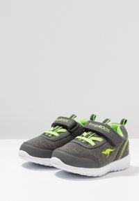 KangaROOS - CITYLITE - Sneakers - steel grey/lime - 3