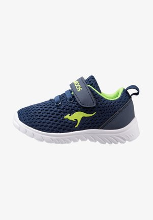 INLITE - Baskets basses - navy/lime