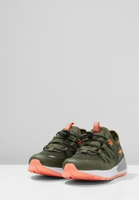 Rooskickx - ROOSKICKX ROOKI SL - Baskets basses - olive/orange - 3