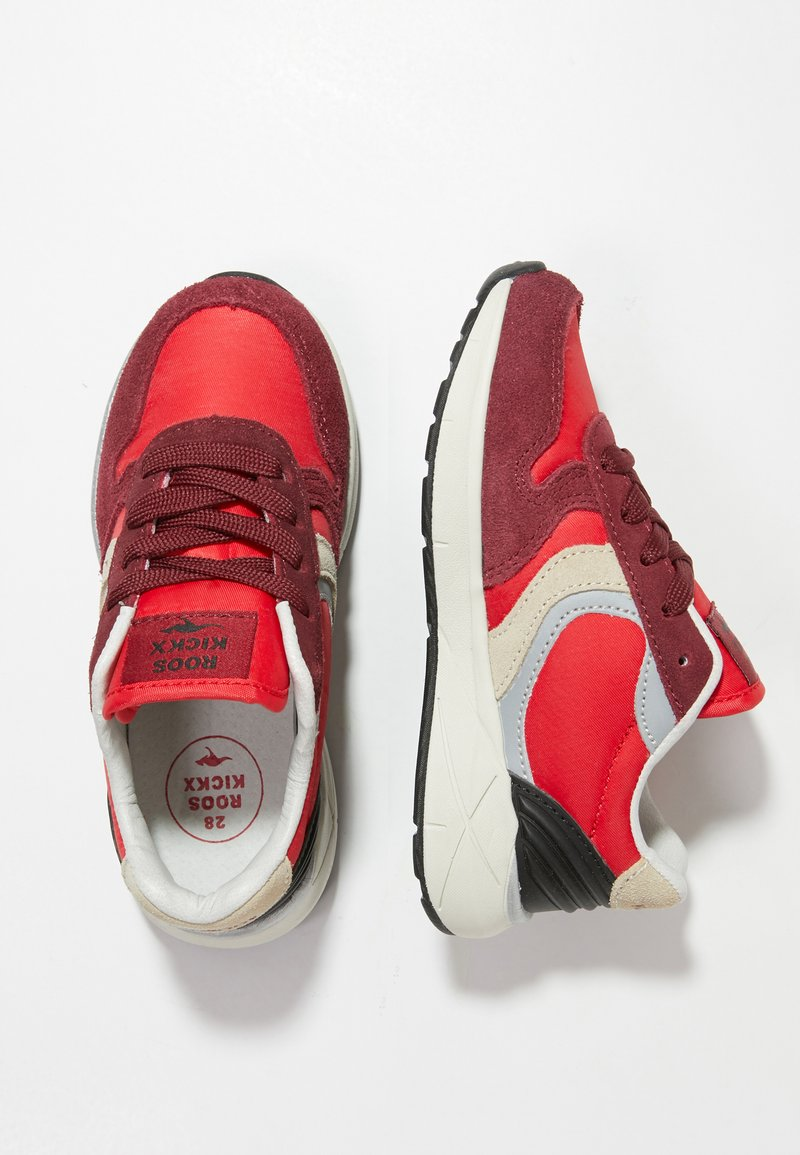 Rooskickx - ROOSKICKX ROOKI SPORT - Joggesko - fiery red/creme white