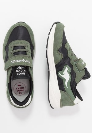 INVADER RK - Baskets basses - olive/jet black