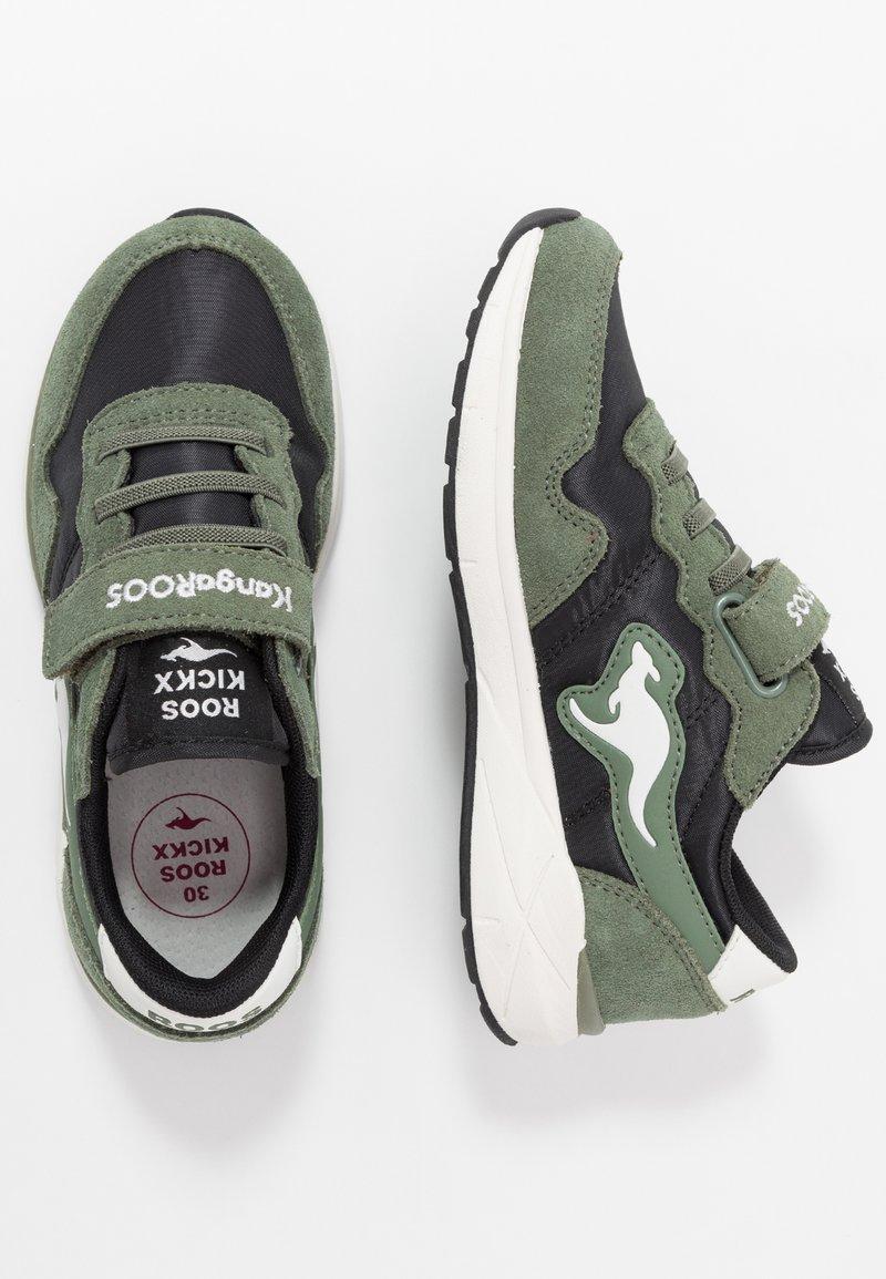 Rooskickx - INVADER RK - Sneakers - olive/jet black