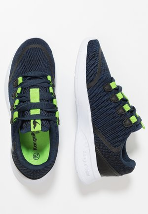LOCK - Sneakers - dark navy/lime