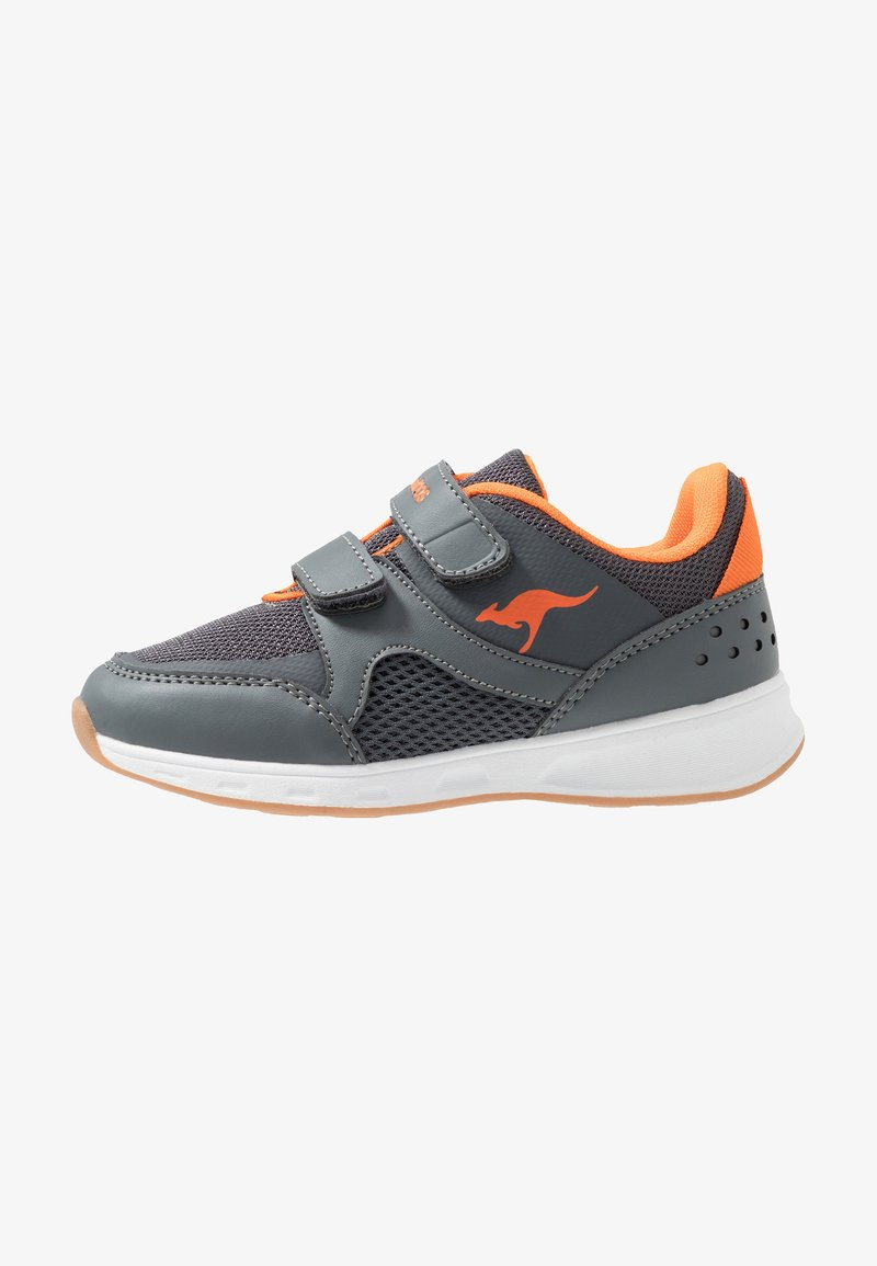 KangaROOS - COURTY  - Sneakers - steel grey/orange