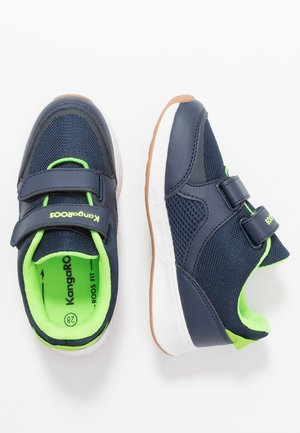 COURTY  - Sneakers - dark navy/lime