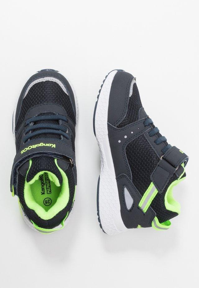 KADEE TARO RTX - Sneaker low - dark navy/lime