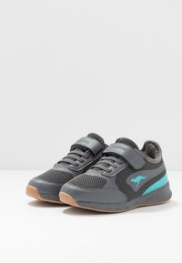 KangaROOS - SPRINT - Sneakers - steel grey/turquoise - 3