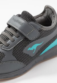 KangaROOS - SPRINT - Sneakers - steel grey/turquoise - 2