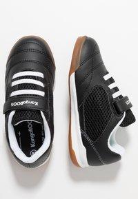 KangaROOS - INCOURT - Baskets basses - jet black/white - 0