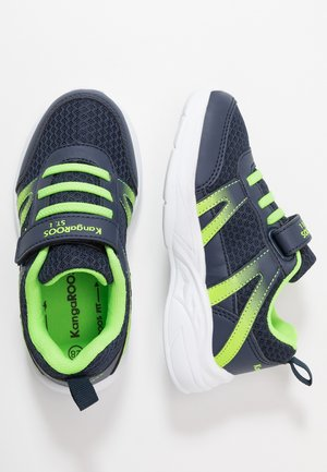 INKO  - Sneakers - dark navy/lime