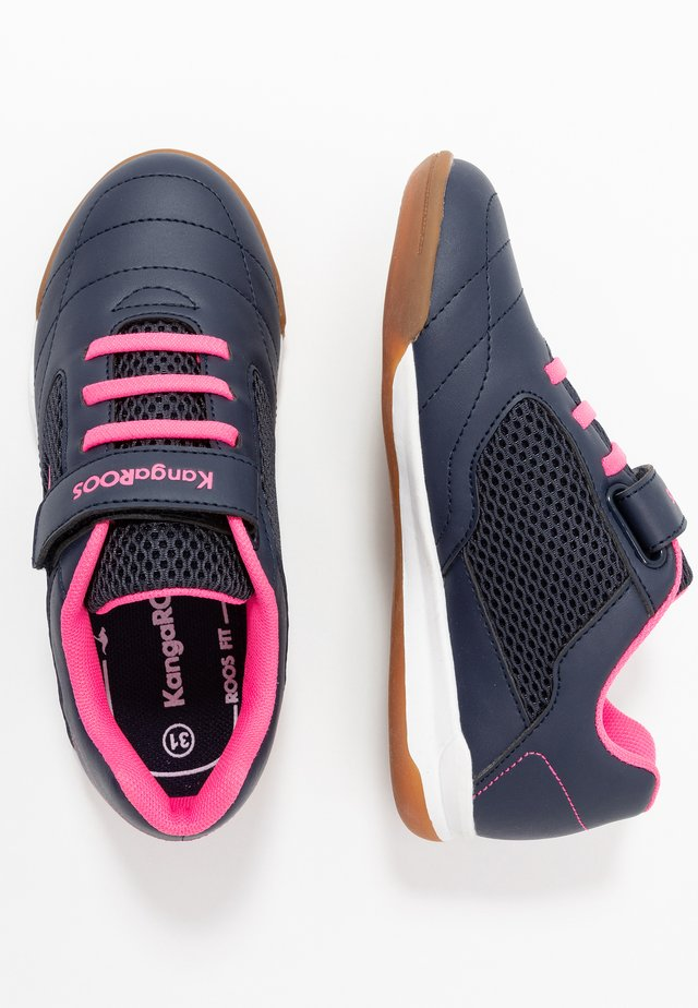 RACE YARD - Tenisky - dark navy/daisy pink