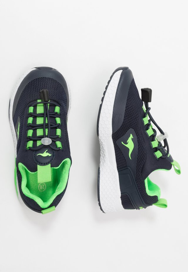KADEE BOP - Sneaker low - dark navy/lime