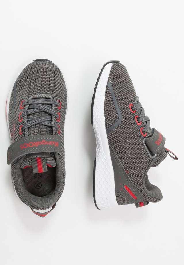 KADEE LITE - Trainers - steel grey/red