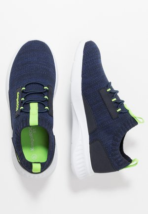 BASH - Sneakers - dark navy/lime