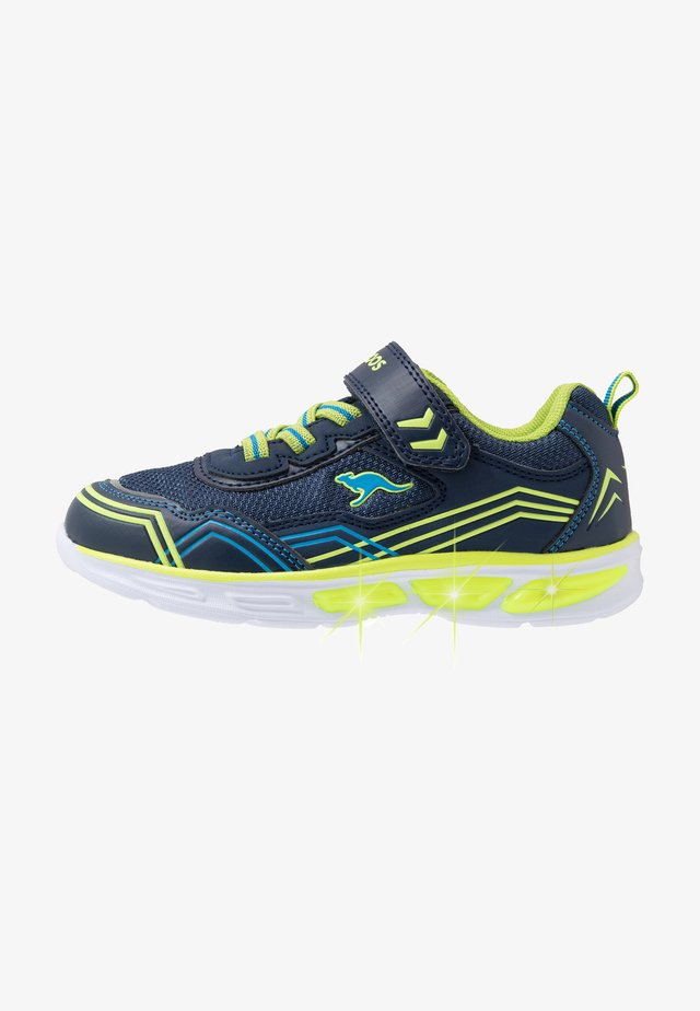 KS-ORBIT - Trainers - dark navy/lime