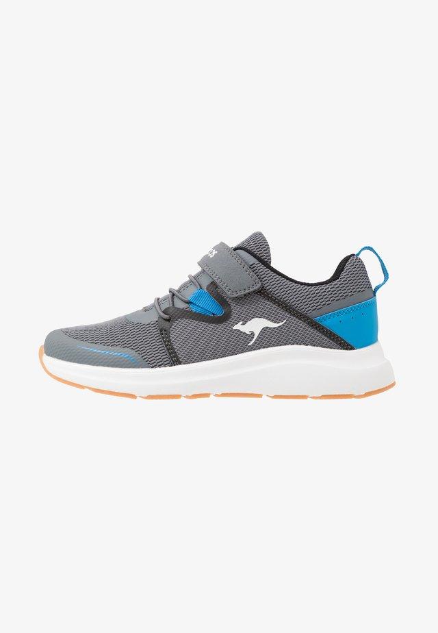 KB-RACE - Trainers - steel grey/brillant blue