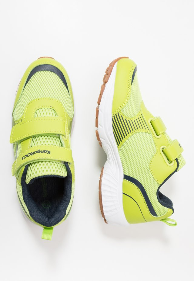 NIKO II  - Trainers - lime/dark navy