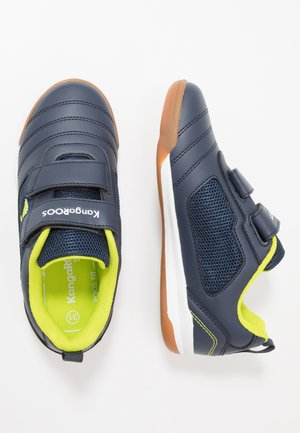 NICOURT - Sneakers - dark navy/lime