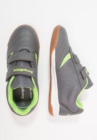 KangaROOS - CHELO COMB - Sneakers - steel grey/lime - 0