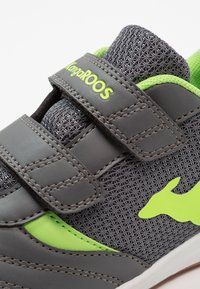 KangaROOS - CHELO COMB - Sneakers - steel grey/lime - 2