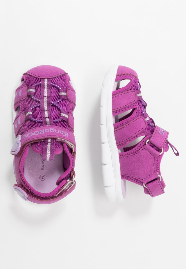 K-MINI - Sandals - fuchsia/lavender